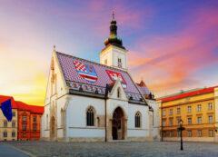 Chiesa di San Marco a Zagabria, Croazia