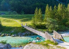 Valle del fiume Isonzo, Slovenia
