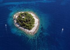 Isole Spalmadori vicino a Hvar, Croazia