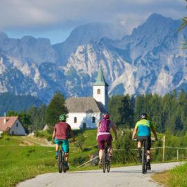 tour in bicicletta attraverso la Slovenia
